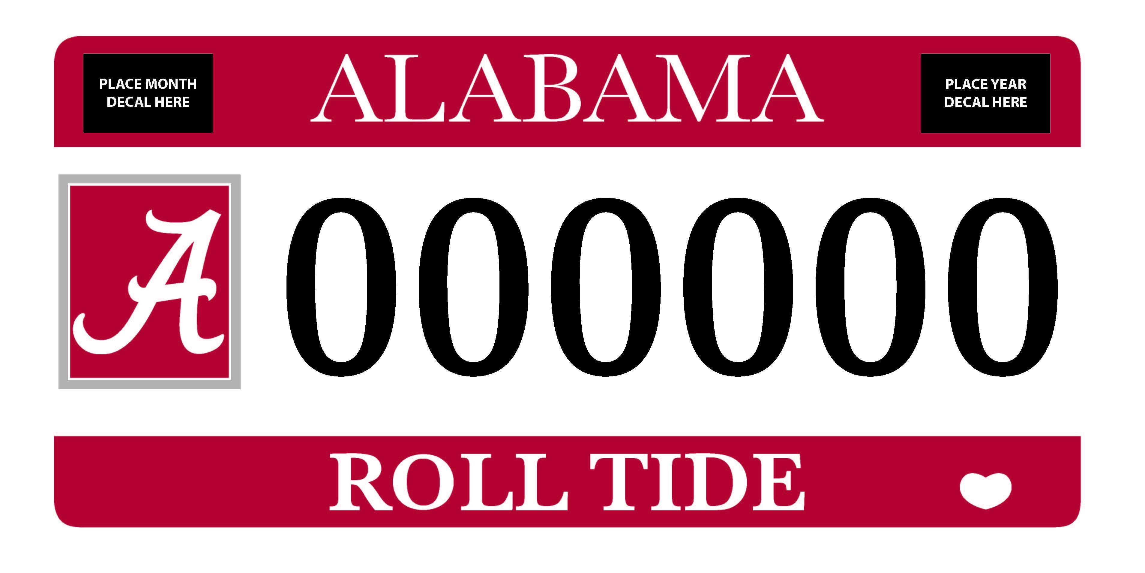 Alabama Car Tags >> Depaul University Hoodies University Of Alabama Car Tags