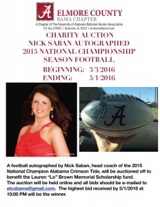 Football auction 2015