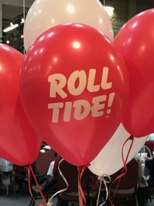 Red Roll Tide Balloons