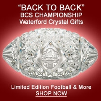 Picture of Waterford 2012 BCS Champions UA Football Collectible