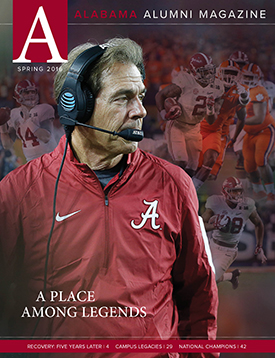 Current Alumni Magazine Issue Cover