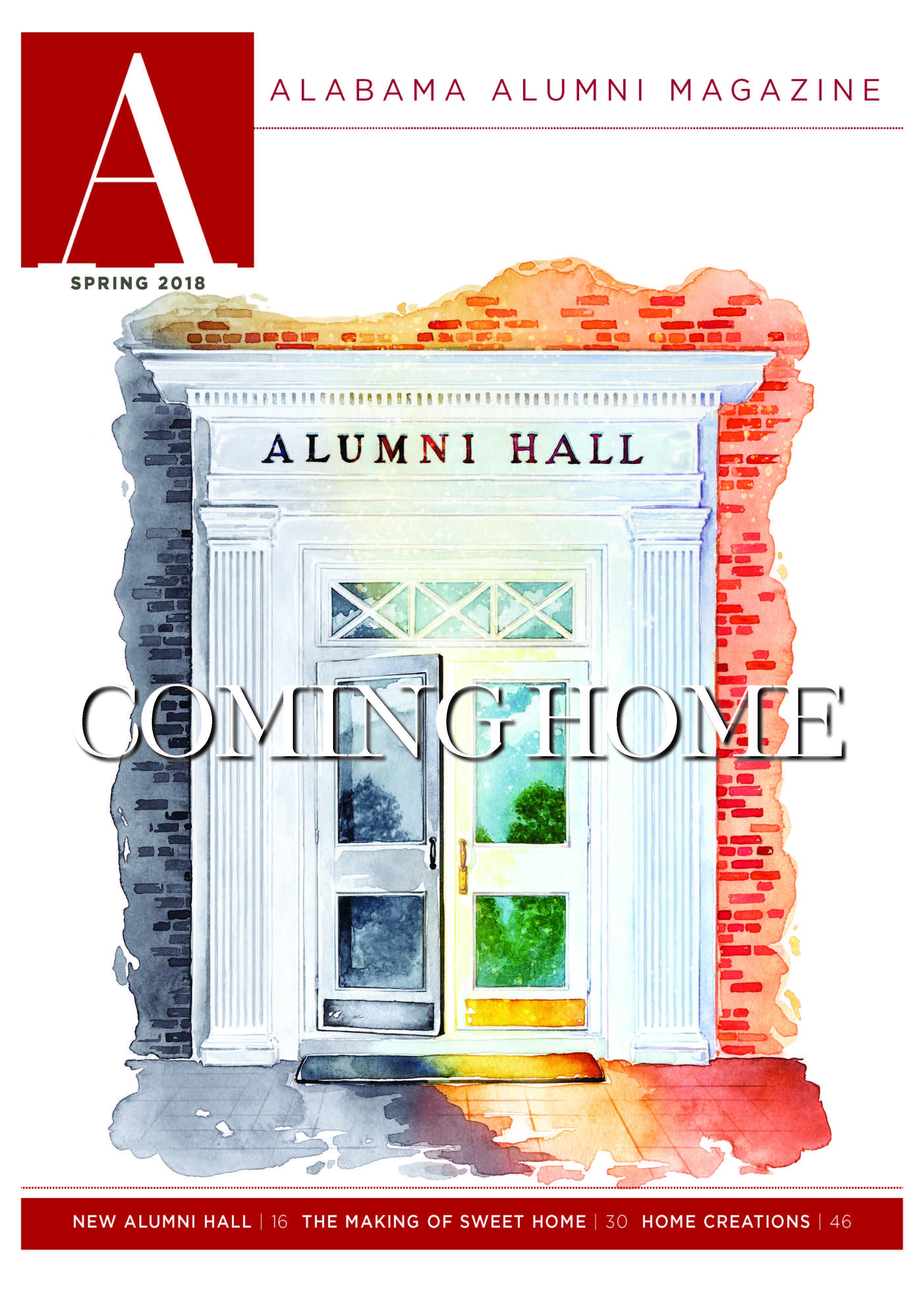 Alumni Magazine 2018 Spring Mag Cover