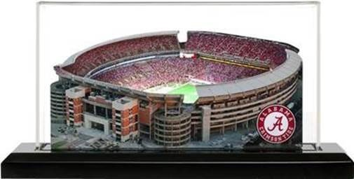 UA Merchandise Item - Bryant-Denny Stadium Picture on Glass